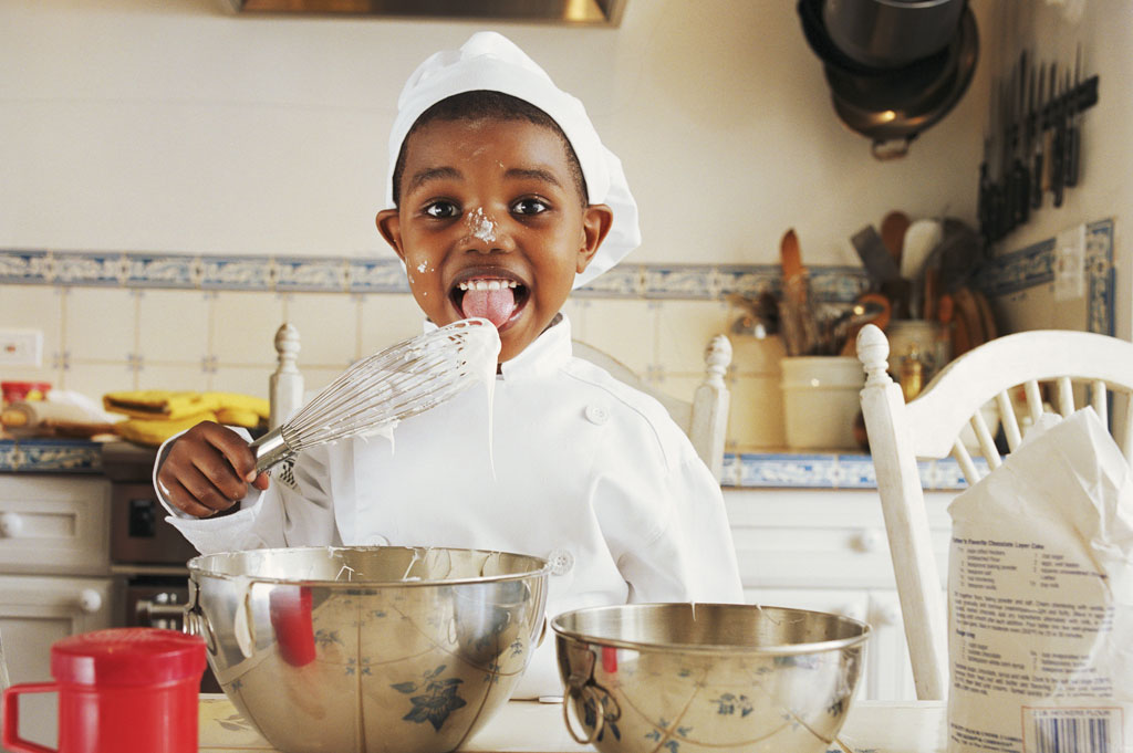 Kids in the Kitchen:  Fan Food for the Whole Family