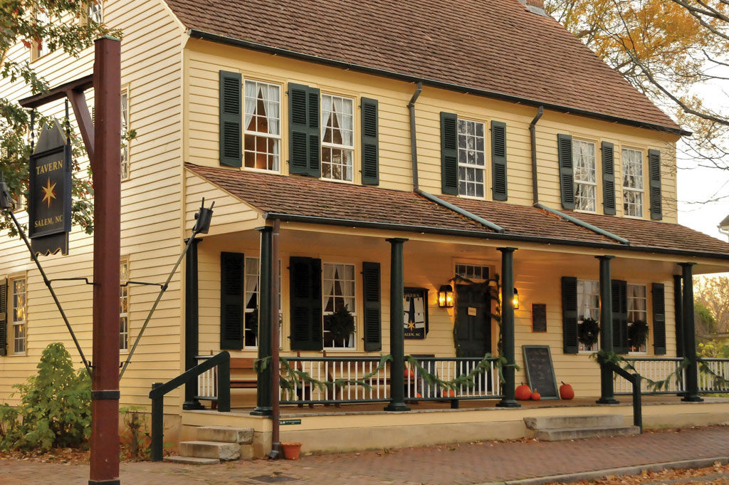 The Tavern in Old Salem:  It's Not Just for Tourists Anymore!