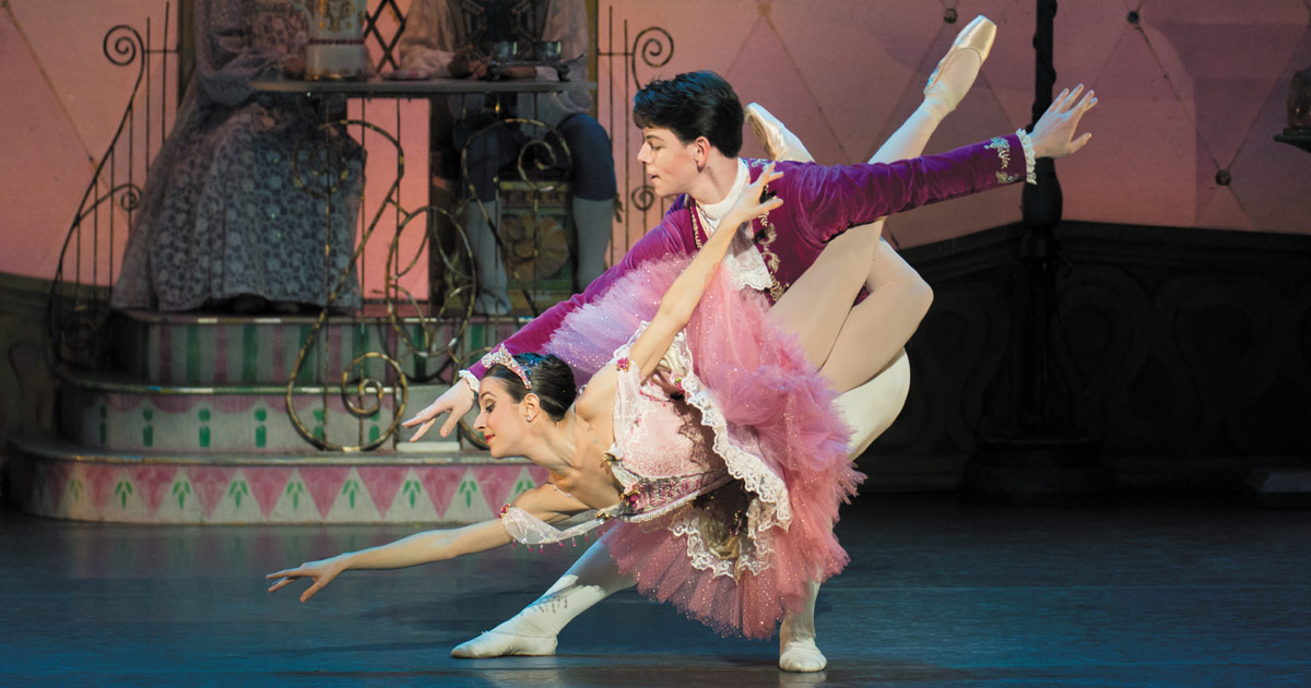 2016 Nutcracker to Showcase Acclaimed Guest Dancers  Megan LeCrone and Martin Harvey during 50th Year Anniversary